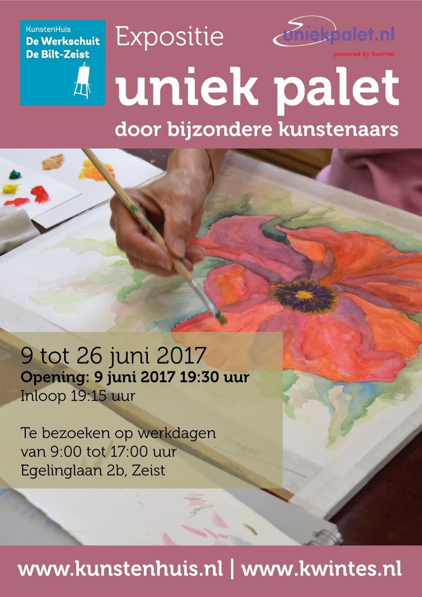 Poster aankondiging expositie